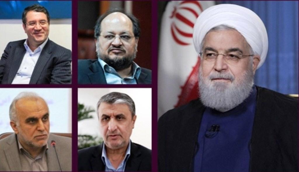 همه وزرای رئیس جمهور رای آوردند