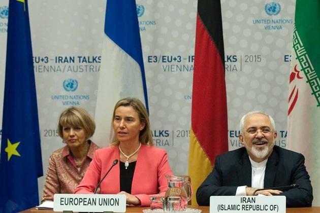بیانیه طرف های اروپایی برجام درباره بازگشت تحریم های آمریکا
