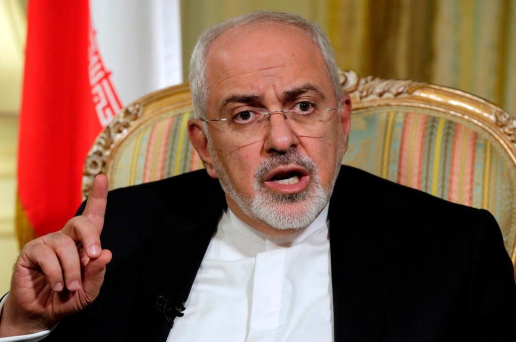 ظریف به اظهارات پمپئو درباره توان موشکی ایران واکنش نشان داد