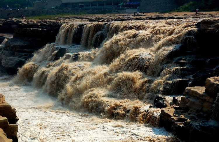 آبشار زرد چین؛ هوکو