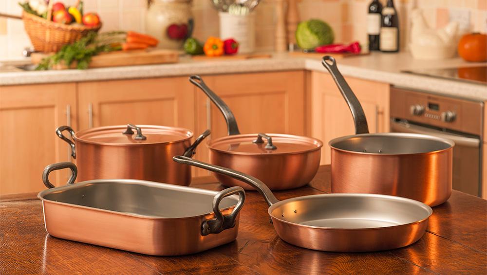 انواع ظروف آشپزی و تمیز کردن آنها (قسمت 1)