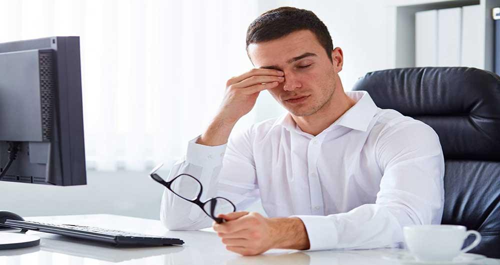راه های مقابله با مشکلات چشمی ناشی از کار