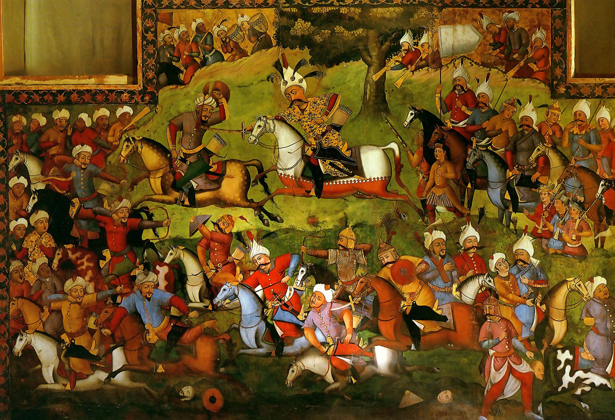 نقاشی قهوهخانه ای در تاریخ هنر ایران (قسمت 1)