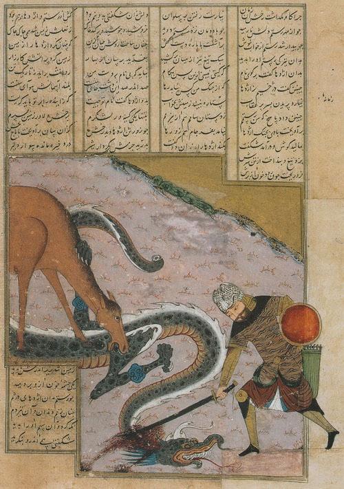 نبرد قهرمان با اژدها در روایت های حماسی ایران (1)