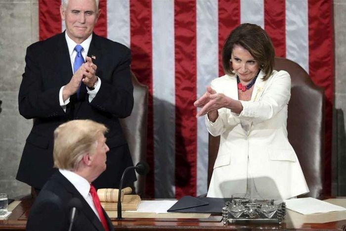 نانسی پلوسی: ترامپ سال آینده رییس جمهوری جدید آمریکا نخواهد بود