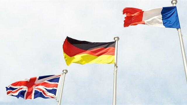 فرانسه، آلمان و انگلیس در بیانیهای خواستار پایبندی کامل ایران به توافق هستهای شدند