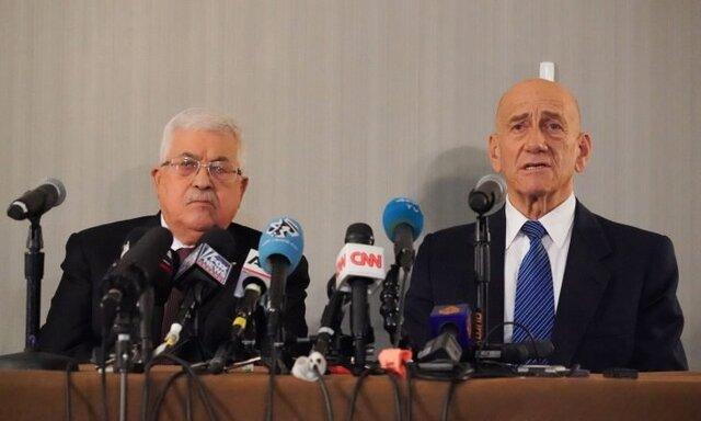 محمود عباس خواستار آغاز مذاکرات با اسرائیل بر اساس طرح 2008 شد