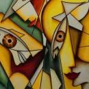 تعریف کوبیسم | تاریخچه کوبیسم | هنرمندان سبک کوبیسم | مراحل سبک کوبیسم