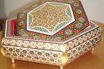 نشان درجه یک هنری برای هنرمند جوان شیرازی