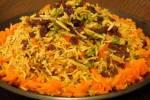 غذاهای کشور افغانستان+ فیلم طرز تهیه کابلی پلو یا قابلی پلو