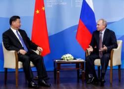 آشپزی روسای جمهور روسیه و چین+ فیلم