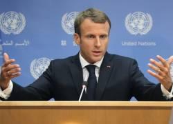 رئیس جمهور فرانسه از تمام طرفها خواست تا هر آنچه میتوانند برای ماندن ایران در برجام بکار گیرند