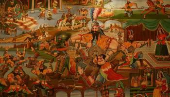 نقاشی قهوهخانه ای در تاریخ هنر ایران (قسمت پایانی)