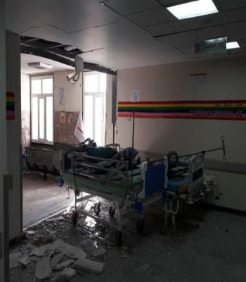 بازسازی بیمارستان اسلام آباد غرب آغاز شد