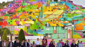 پالمیتاس | رنگین کمان پالمیتاس در شهر پاچوکا مکزیک