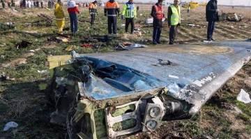 نتایج بازخوانی جعبه سیاه هواپیمای شرکت هواپیمایی اوکراین اینترنشنال
