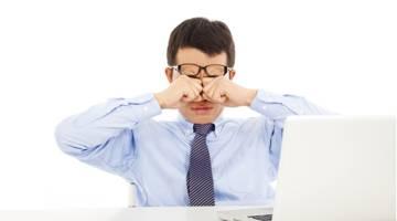علل خستگی چشم | علایم خستگی چشم | سندروم بینایی ناشی از کار با کامپیوتر